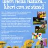 Liberi nella Natura… Liberi con sè stessi! Campo Estivo